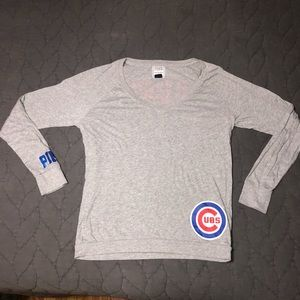 PINK Victoria's Secret Chicago Cubs long sleeve